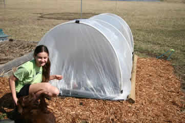 Hoop House in March