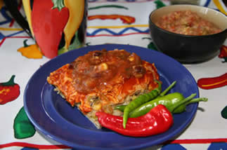 enchiladas with chilies
